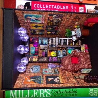 Book Nooks. Shelf inserts.